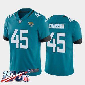 Jacksonville Jaguars K'Lavon Chaisson Teal Jersey